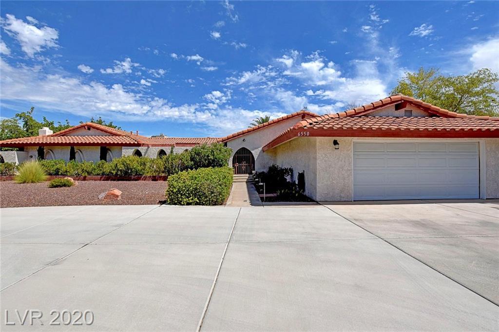 6550 Viewpoint Drive Property Photo - Las Vegas, NV real estate listing