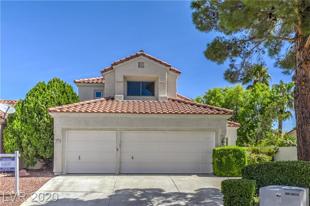 1412 Country Hollow Drive Property Photo - Las Vegas, NV real estate listing