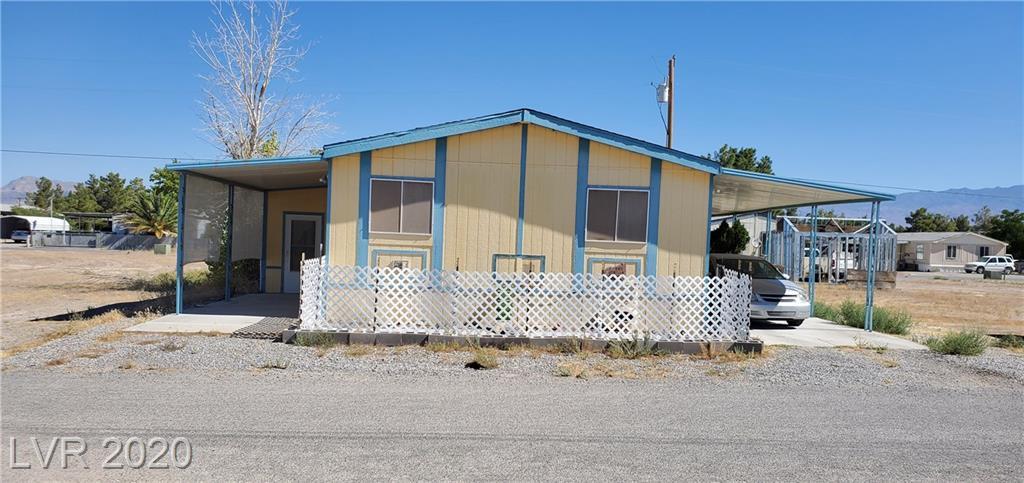 280 Jobella Lane Property Photo - Pahrump, NV real estate listing