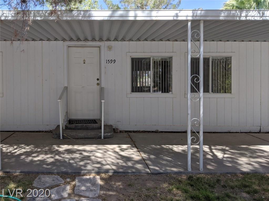 1599 Tamarack Road Property Photo - Amargosa, NV real estate listing
