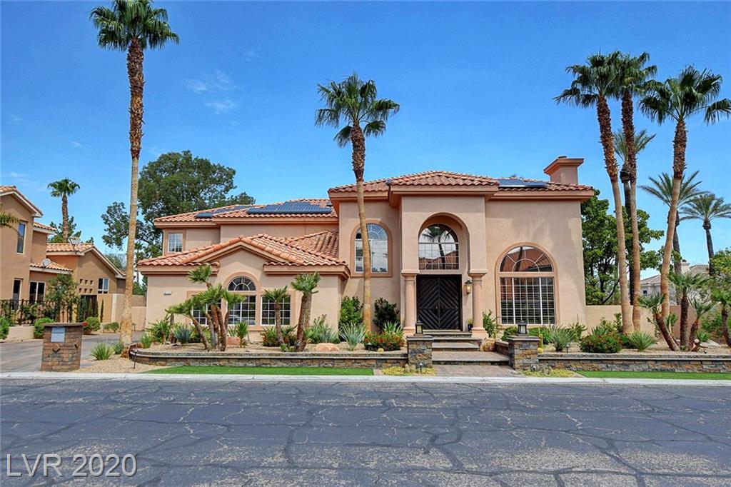 8112 Sapphire Bay Circle Property Photo - Las Vegas, NV real estate listing