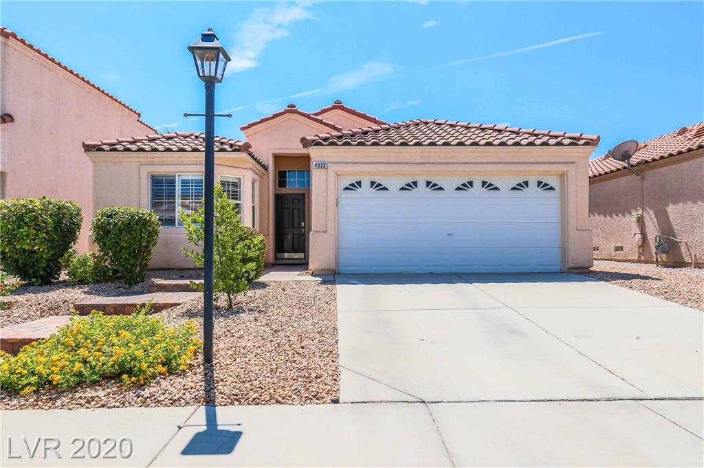 4933 Morning Splash Avenue Property Photo - Las Vegas, NV real estate listing