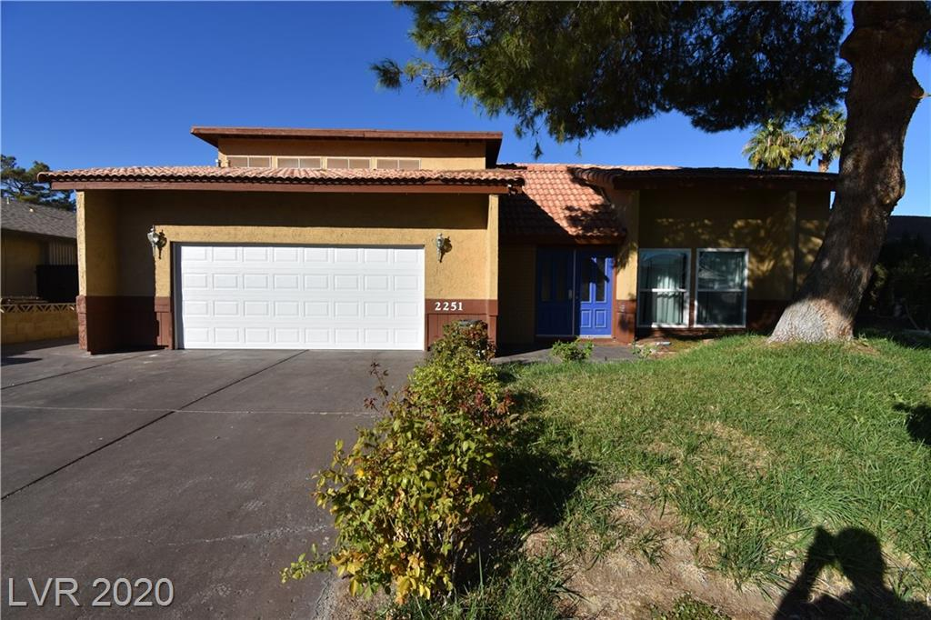 2251 Marlboro Drive Property Photo - Henderson, NV real estate listing