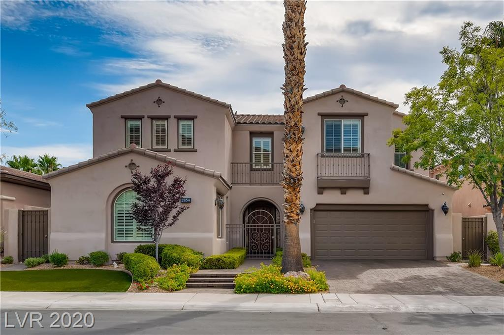 2854 Evening Rock Property Photo - Las Vegas, NV real estate listing