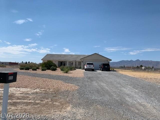 231 Ember Street Property Photo - Pahrump, NV real estate listing