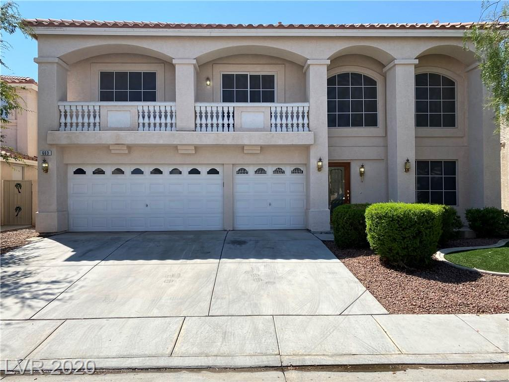 663 Pacific Star Court Property Photo - Las Vegas, NV real estate listing