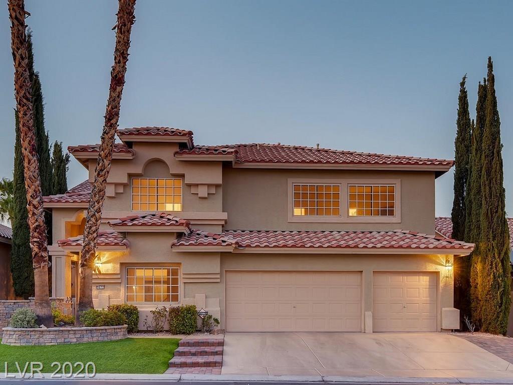 9672 Camino Capistrano Lane Property Photo - Las Vegas, NV real estate listing