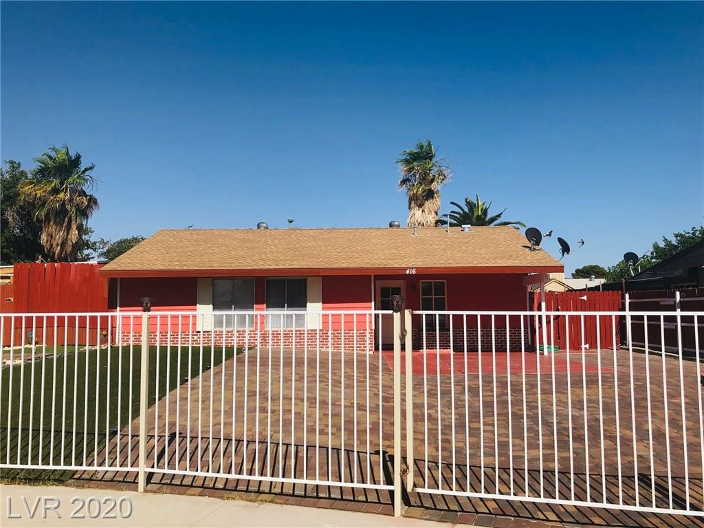 416 Bandera Property Photo - Las Vegas, NV real estate listing