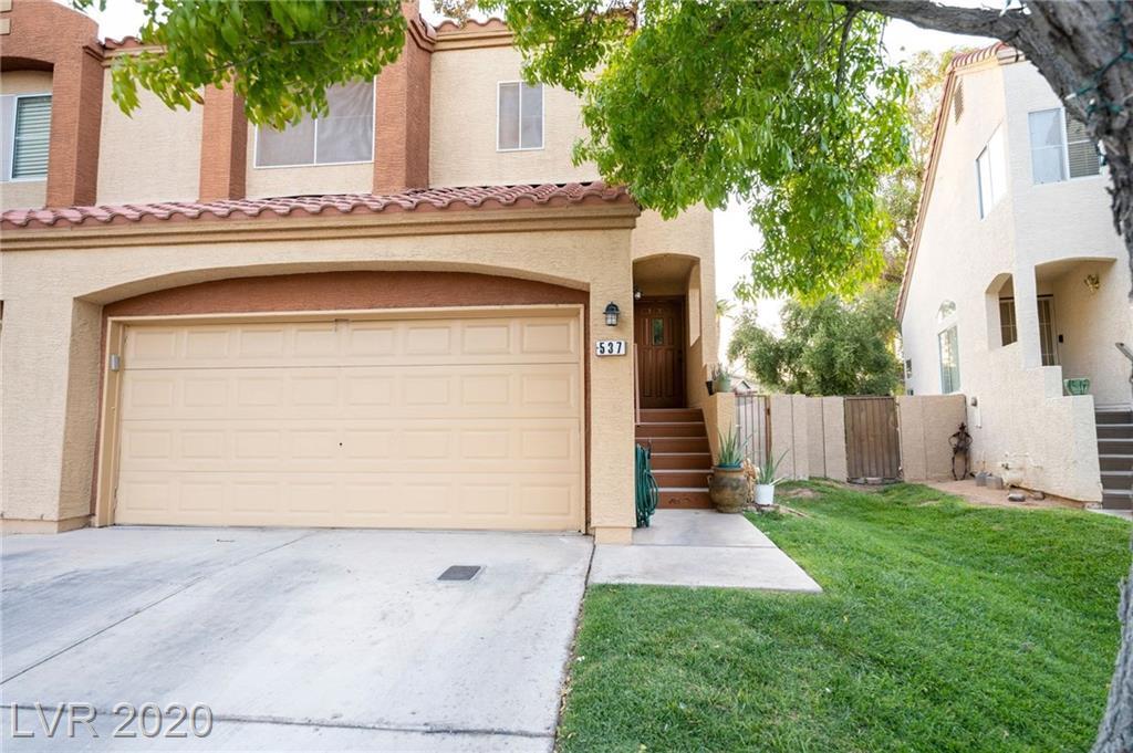 537 Meadbury Drive Property Photo - Henderson, NV real estate listing