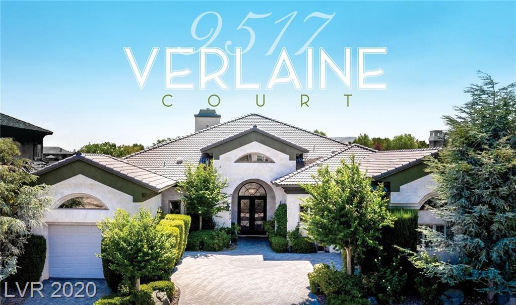 9517 VERLAINE Court Property Photo - Las Vegas, NV real estate listing
