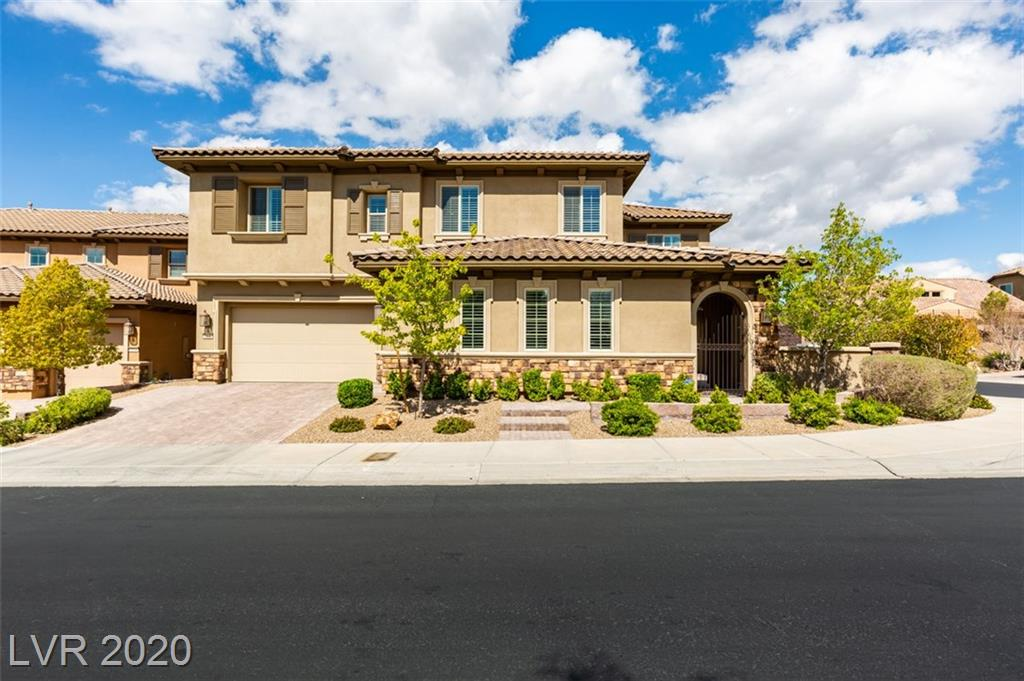 2500 Pont Marie Drive Property Photo - Henderson, NV real estate listing