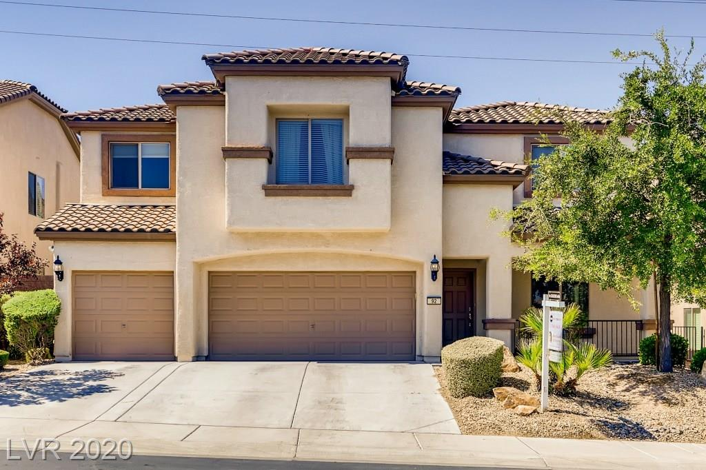 92 Voltaire Avenue Property Photo - Henderson, NV real estate listing