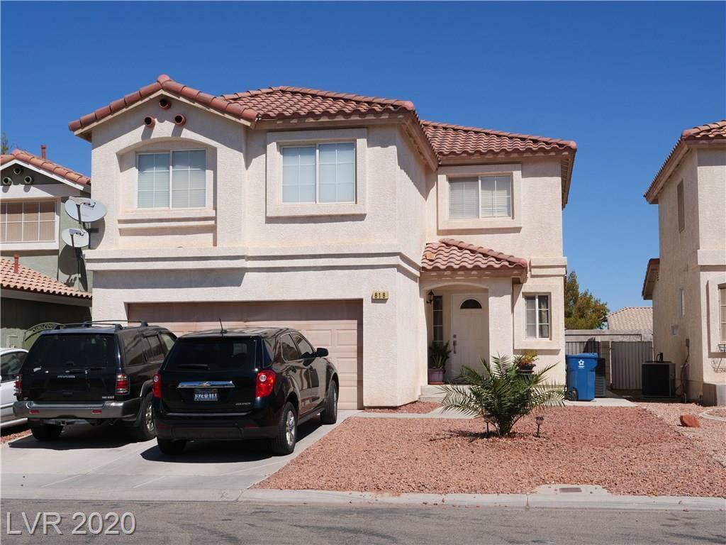 818 Ribbon Grass Avenue Property Photo - Las Vegas, NV real estate listing