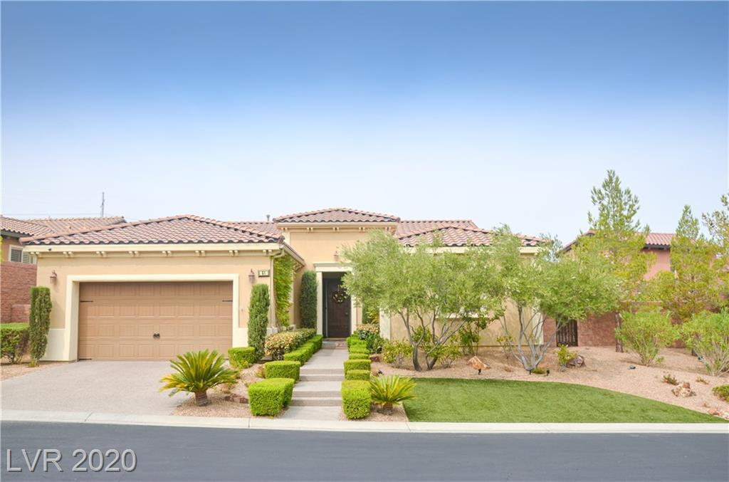 51 Contrada Fiore Drive Property Photo - Henderson, NV real estate listing