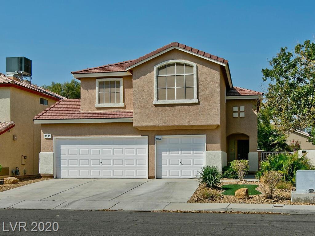 1985 Blue Ribbon Drive Property Photo - Las Vegas, NV real estate listing