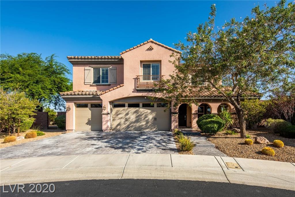 2900 Valvent Court Property Photo - Henderson, NV real estate listing