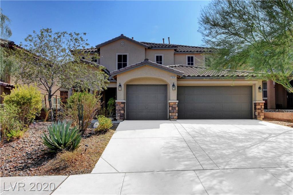 3605 Sapphire Sea Court Property Photo - North Las Vegas, NV real estate listing