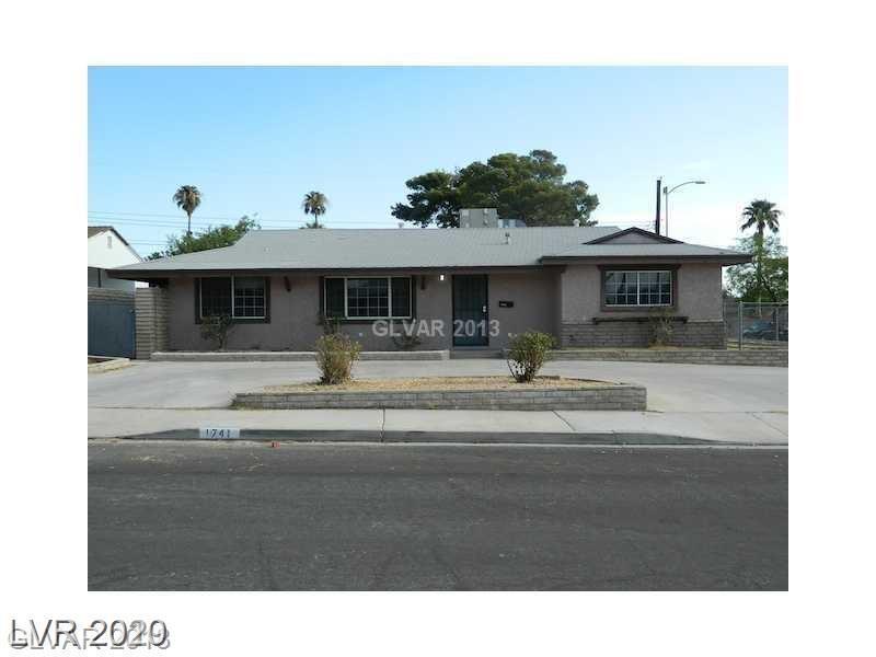 1741 Howard Avenue Property Photo - Las Vegas, NV real estate listing