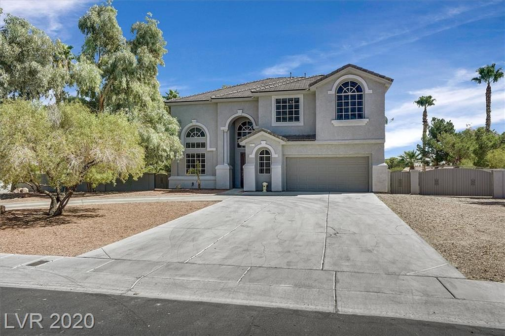 6012 Lonesome Cactus Street Property Photo - Las Vegas, NV real estate listing