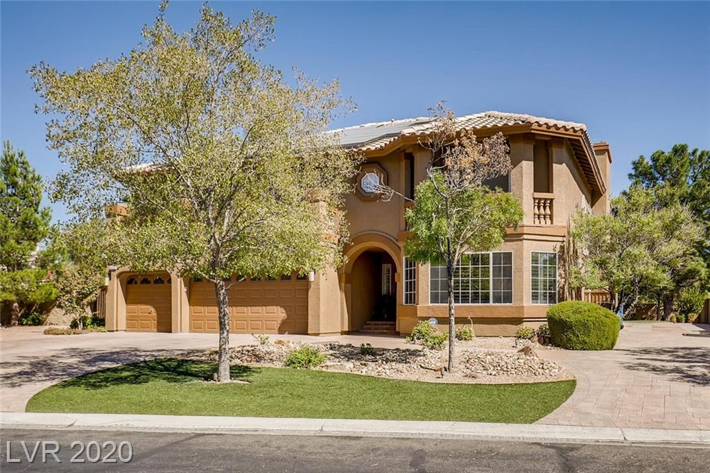 4522 Amber Canyon Lane Property Photo - Las Vegas, NV real estate listing
