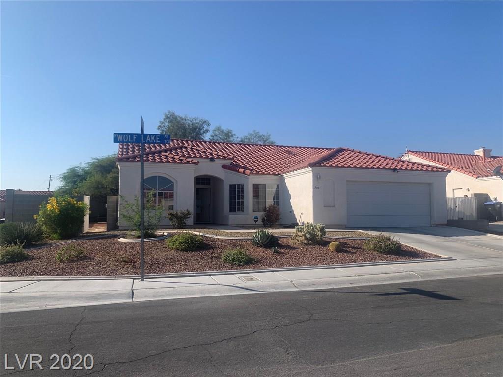 703 Wolf Lake Avenue Property Photo - North Las Vegas, NV real estate listing