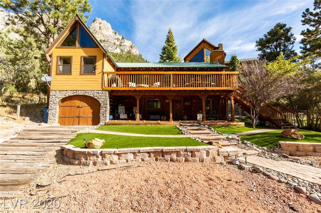 288 Crestview Drive Property Photo - Mount Charleston, NV real estate listing