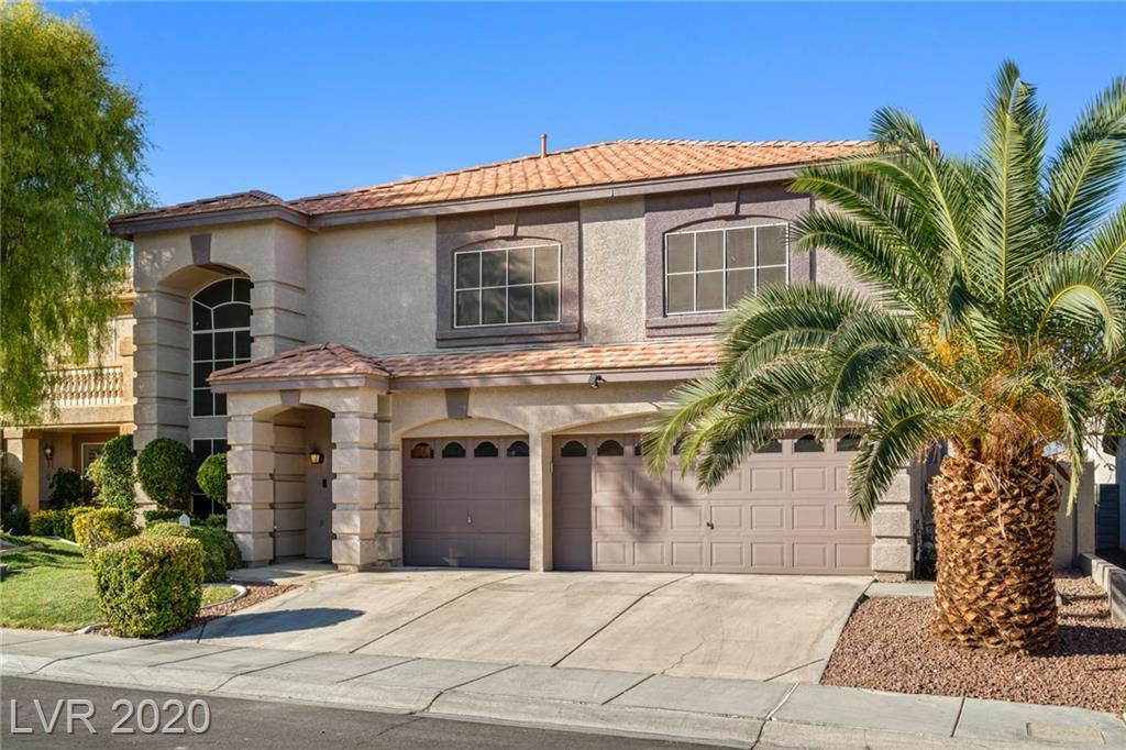 8520 Raindrop Canyon Avenue Property Photo - Las Vegas, NV real estate listing