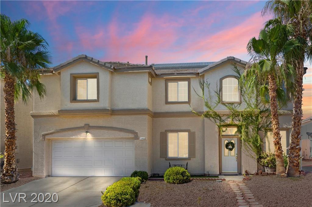 5443 Meadow Saffron Court Property Photo - North Las Vegas, NV real estate listing