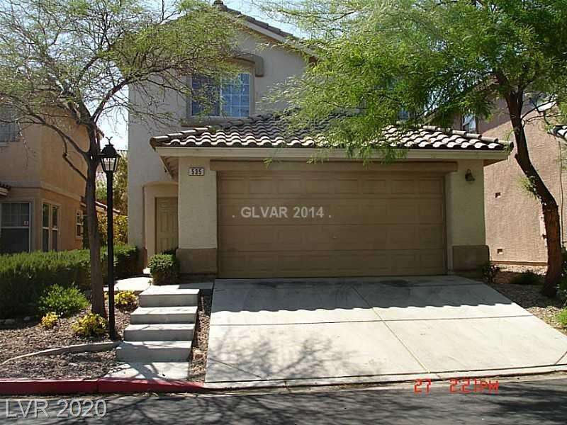 535 Poplar Leaf Street Property Photo - Las Vegas, NV real estate listing