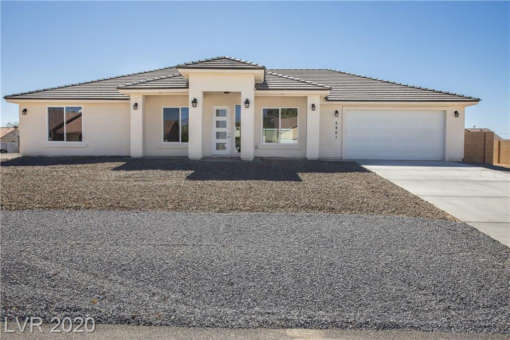 5401 E Fernwood Court Property Photo - Pahrump, NV real estate listing