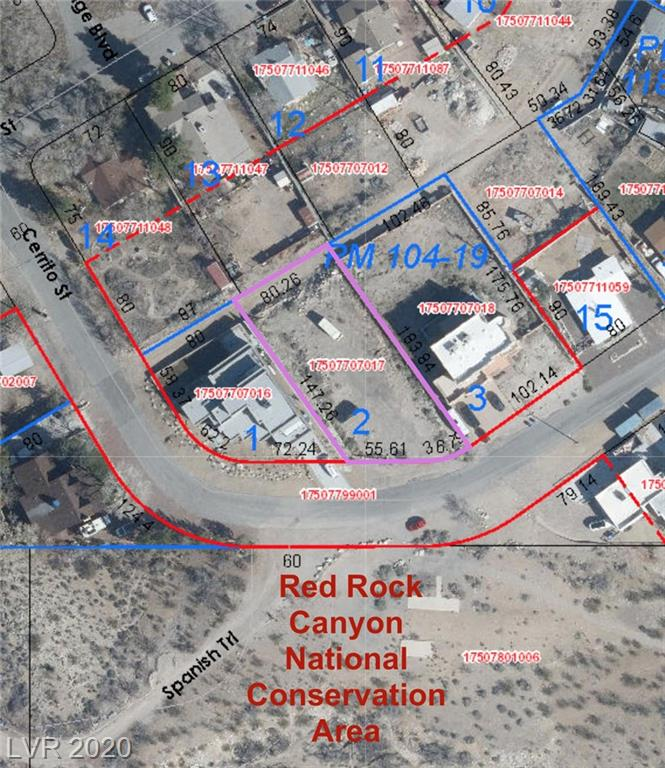 0 Cerrito Street Property Photo - Blue Diamond, NV real estate listing