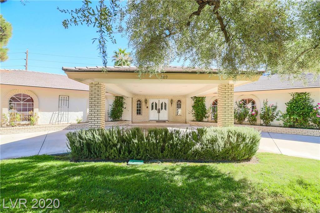 209 Dalmatian Lane Property Photo - Las Vegas, NV real estate listing