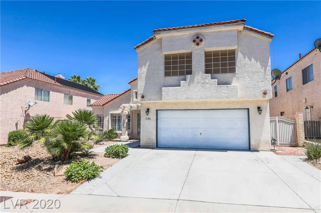 536 Baldridge Property Photo - Henderson, NV real estate listing