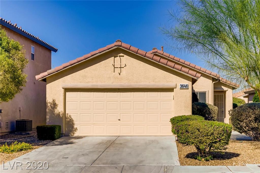 3646 Laguna Veneta Avenue Property Photo - Las Vegas, NV real estate listing