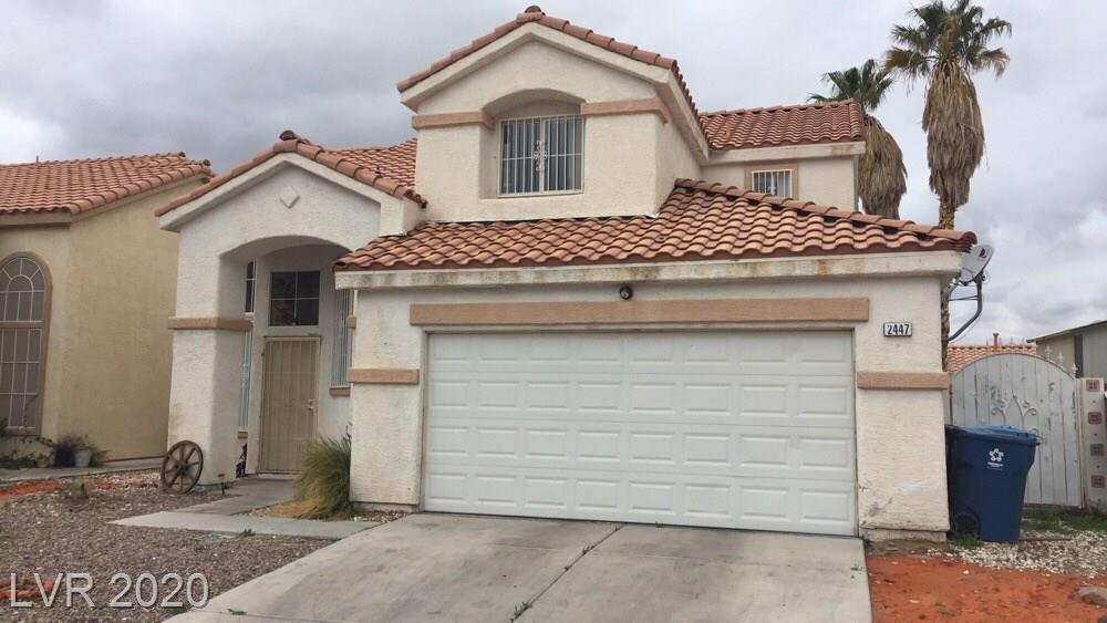 2447 Sagamore Drive Property Photo - Las Vegas, NV real estate listing