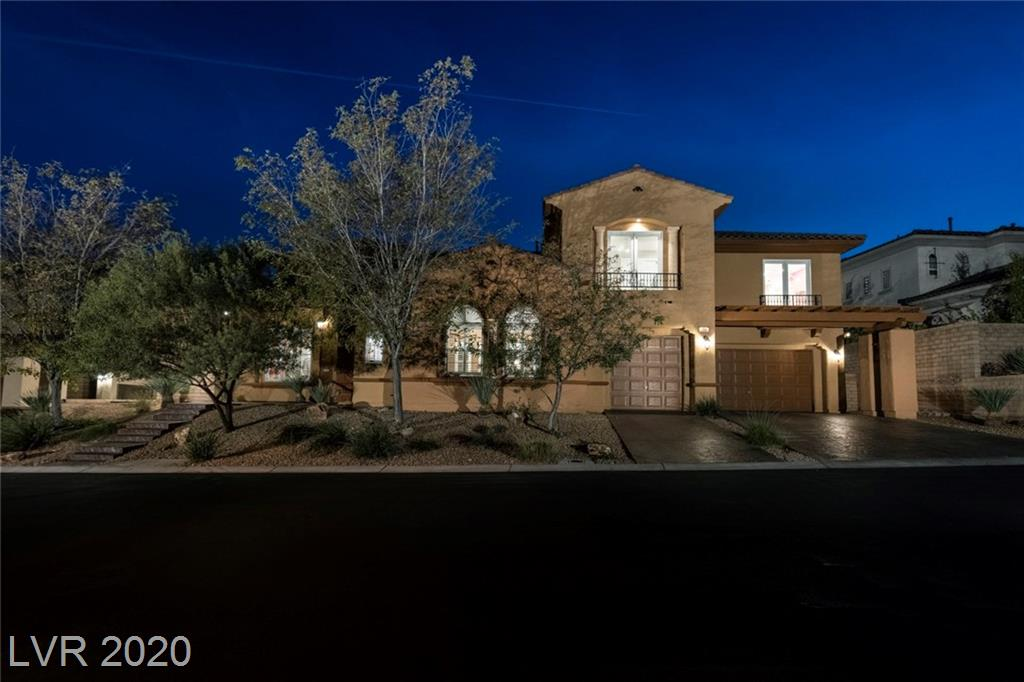 709 Coriander Canyon Court Property Photo - Las Vegas, NV real estate listing