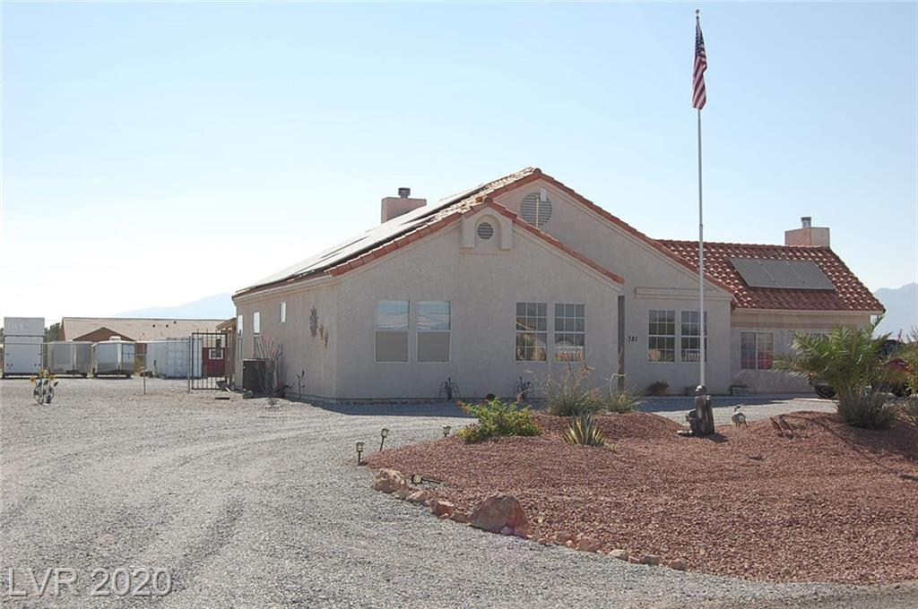 781 Garden Lane Property Photo - Pahrump, NV real estate listing