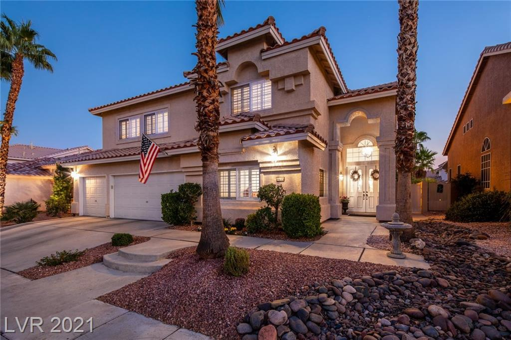 9633 Camino Capistrano Lane Property Photo - Las Vegas, NV real estate listing