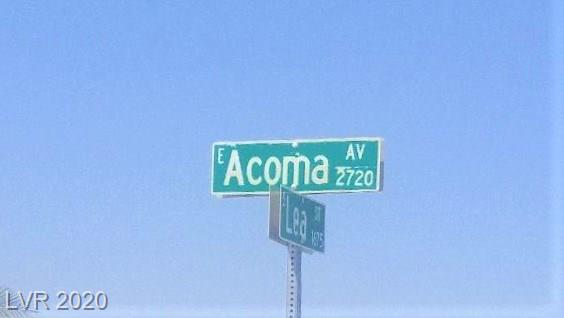 2841 E Acoma Avenue Property Photo - Pahrump, NV real estate listing