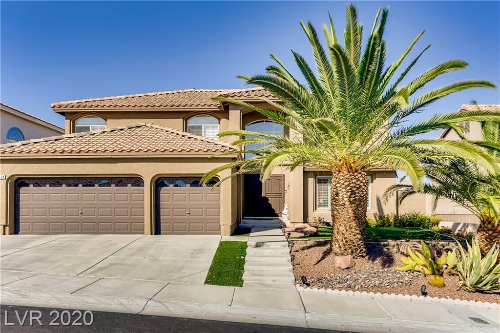 9124 Sapphire Ridge Avenue Property Photo - Las Vegas, NV real estate listing