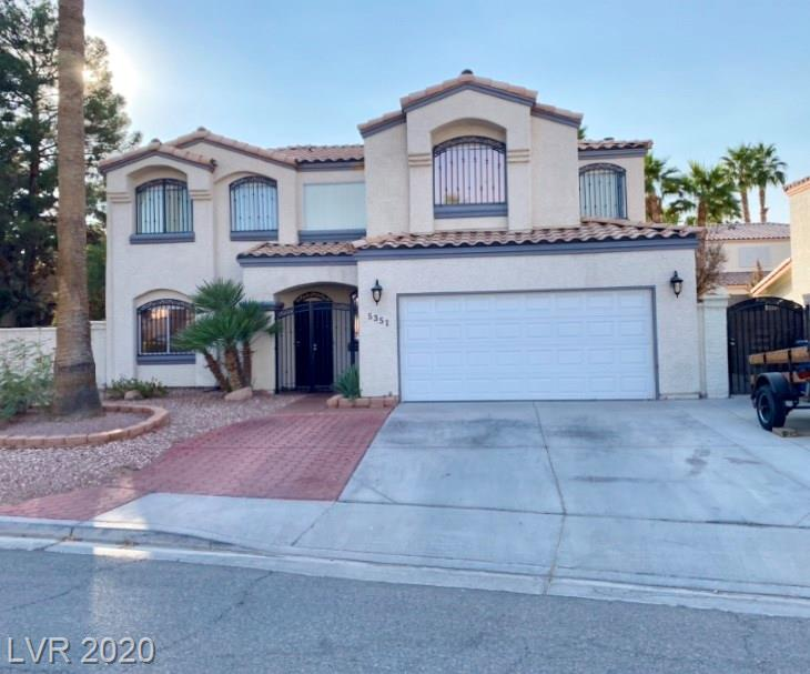 5351 Little Mesa Way Property Photo - Las Vegas, NV real estate listing