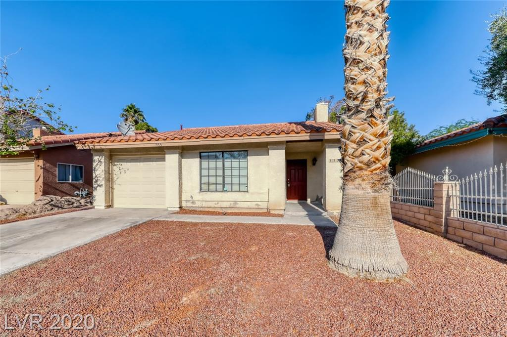 535 Bayberry Drive Property Photo - Las Vegas, NV real estate listing