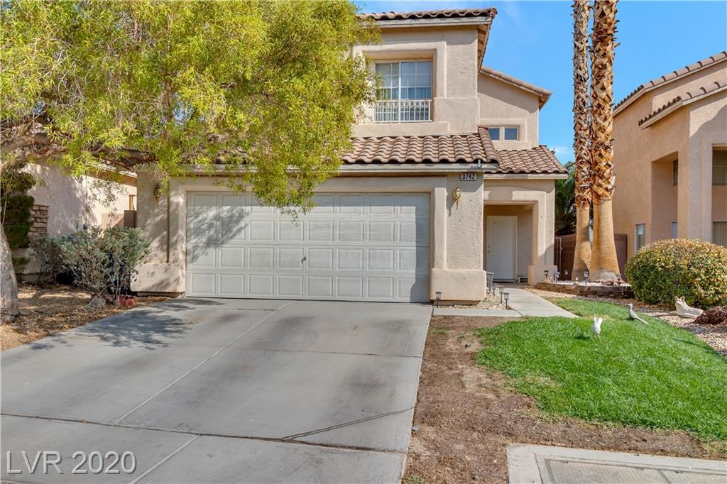 3742 Crest Horn Drive Property Photo - Las Vegas, NV real estate listing