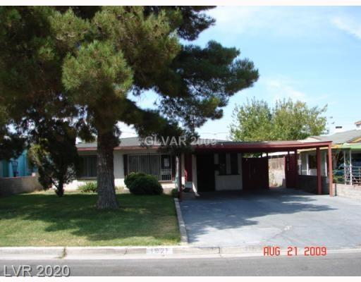 1921 Linden Avenue Property Photo - Las Vegas, NV real estate listing