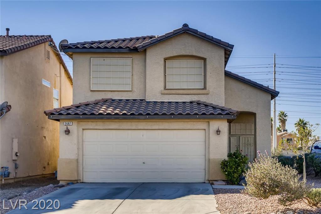 2687 Morning Break Court Property Photo - Las Vegas, NV real estate listing