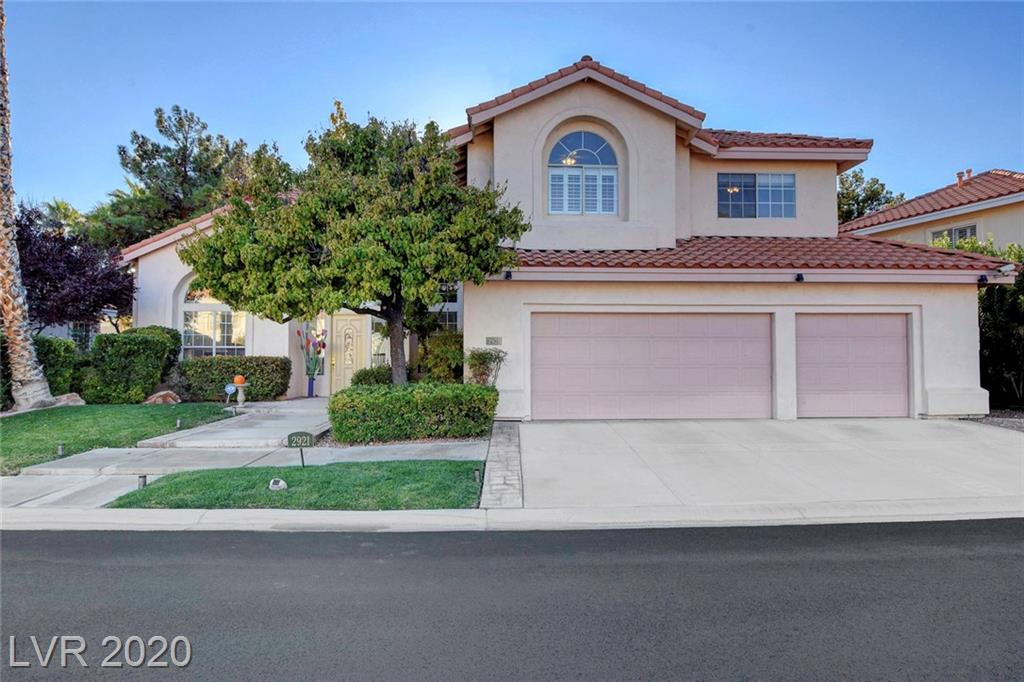 2921 Sterling Cove Drive Property Photo - Las Vegas, NV real estate listing