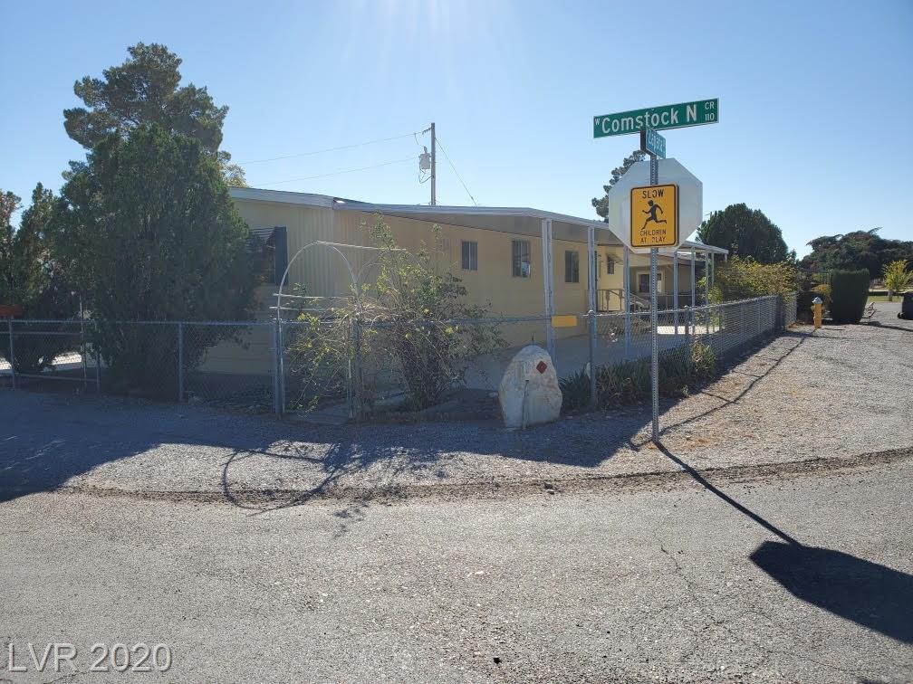 101 W Comstock Circle Property Photo - Pahrump, NV real estate listing