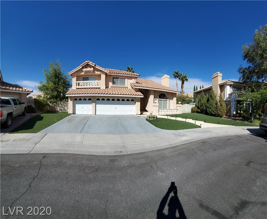 9424 Low Tide Court Property Photo - Las Vegas, NV real estate listing