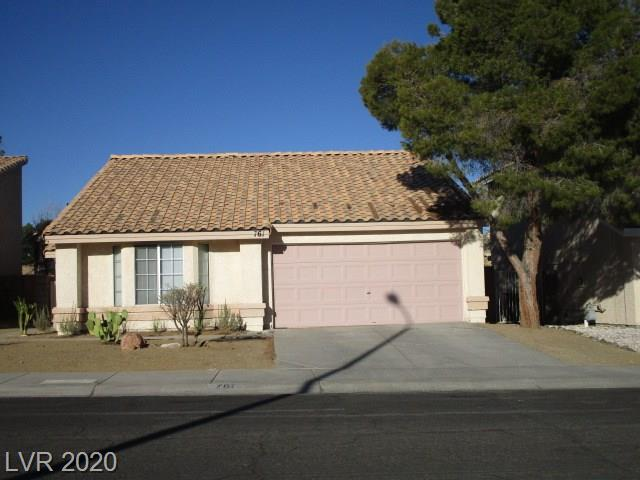 761 Butternut Court Property Photo - Henderson, NV real estate listing