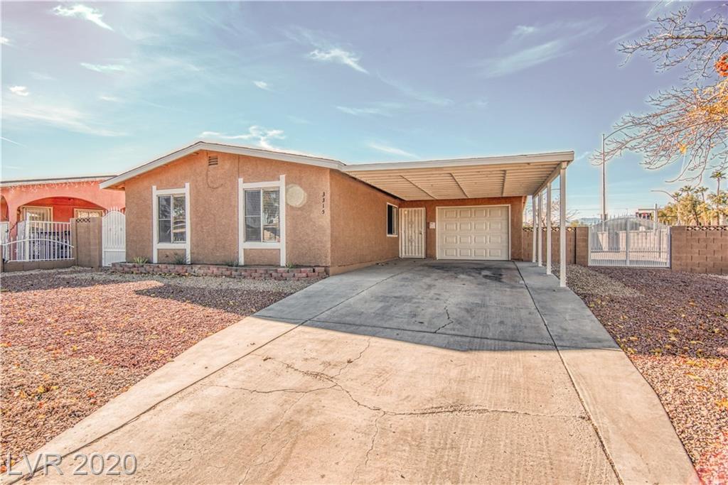 3315 Pioneer Avenue Property Photo - Las Vegas, NV real estate listing